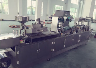 Tropis Tablet / Kapsul Blister Packing Machine Alu Alu Blister Mesin Multifungsi